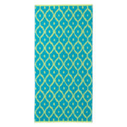 Outdoor Oasis Jacquard Piper Beach Towel