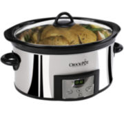 Crock-Pot® 6-qt. High-Polish Slow Cooker + $5 Printable Mail-In Rebate