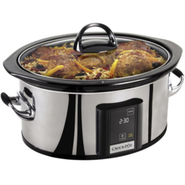 jcpenney.com | Crock-Pot®  6½-qt. Countdown Touchscreen Digital Slow Cooker
