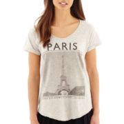 MNG by Mango® Short-Sleeve Paris Graphic Tee