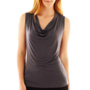 Worthington® Essential Sleeveless Cowlneck Top