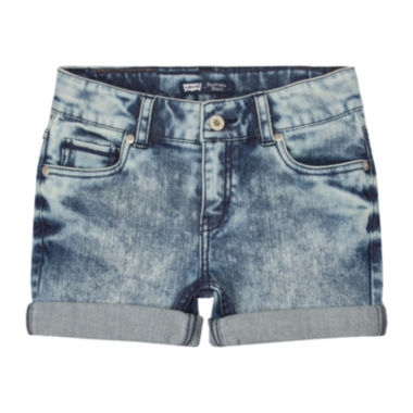 jcpenney.com | Levi's® Denim Boyfriend Shorts - Girls 7-16
