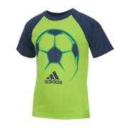 adidas® Radiant Sport Tee - Preschool Boys 4-7