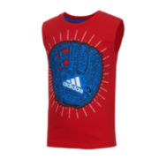 adidas® Muscle Tee - Preschool Boys 4-7