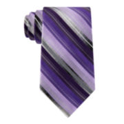 Van Heusen® Three-Tone Stripe Silk Tie