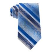 Van Heusen® Flex Floral Stripe Silk Tie