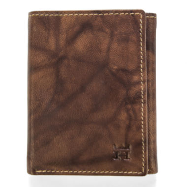 jcpenney.com | Haggar® Antique Trifold Leather Wallet