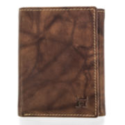 Haggar® Antique Trifold Leather Wallet