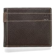 Haggar® Pebble Passcase Leather Wallet