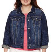 Arizona Denim Jacket - Juniors Plus