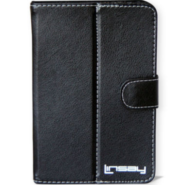 "jcpenney.com | Linsay® 7"" Hard Leather Protective Tablet Case"