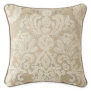 Royal Velvet® Palais Square Damask Decorative Pillow