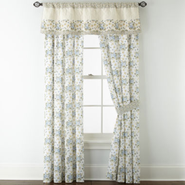jcpenney.com | Home Expressions™ Gardenbrook 2-Pack Curtain Panels