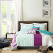 Intelligent Design Lexie Coverlet Set