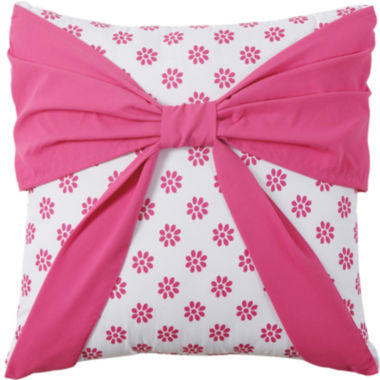 jcpenney.com | VCNY Amanda Square Bow Decorative Pillow