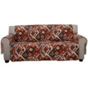 Folk Festival Sofa Slipcover