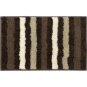 Bathtopia Dmitri Microfiber Stripe Bath Rug Collection