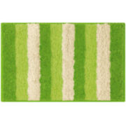 Bathtopia Radella Microfiber Stripe Bath Rug Collection