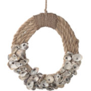 Abaca Wreath Wall Décor