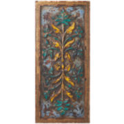 Multi Distressed Carved Wall Art