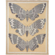 Three Golden Moths Wall Art
