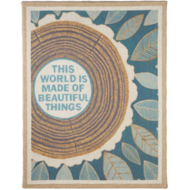 jcpenney.com | This World is Made of Beautiful Things Wall Art