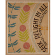 Seek Delight Wall Art