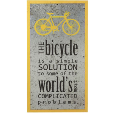 jcpenney.com | Bicycle Inspirational Wall Art