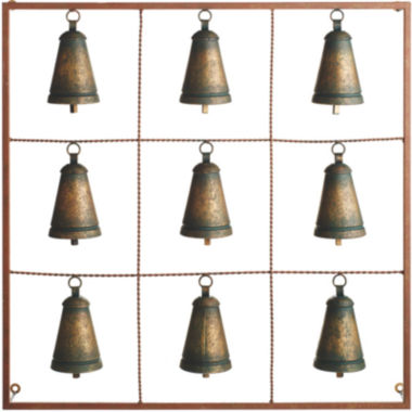 jcpenney.com | Antique Bells Metal Wall Art