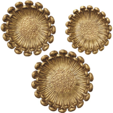 jcpenney.com | 3-pc. Golden Flower Décor