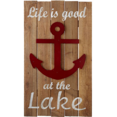 jcpenney.com | Life is Good at the Lake Wall Art
