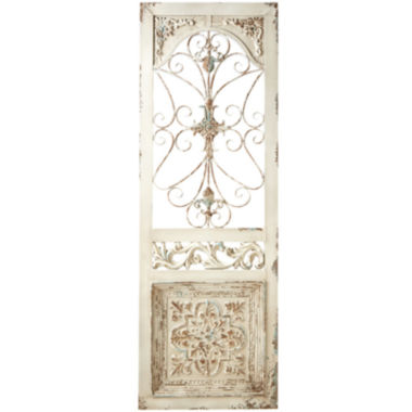 jcpenney.com | Distressed Scroll Door Metal Art