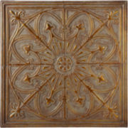 Classic Distressed Medallion Wall Art