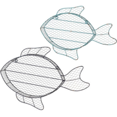 jcpenney.com | 2-pc. Fish Cubby Wall Shelves