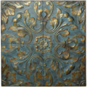 Patina Scroll Wall Art