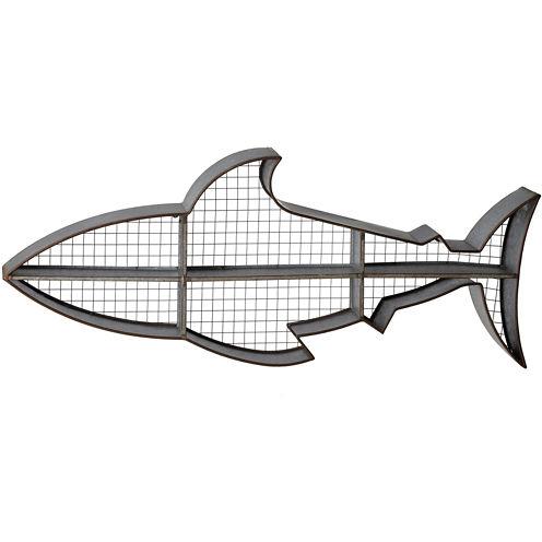 Shark Cubby Wall Shelf