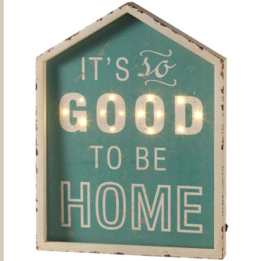 jcpenney.com | It's So Good To Be Home Marquee Wall Art