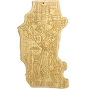 Total Bamboo® Seattle Serving Board