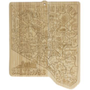Totally Bamboo® Baltimore Serving Board