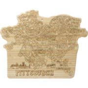 Totally Bamboo® Pittsburgh Serving Board