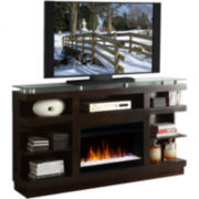 "Granby 65"" Entertainment Center with Electric Fireplace"