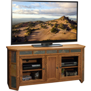 "jcpenney.com | Springfield 63"" Angled Entertainment Center"
