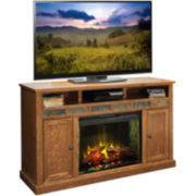 "Breckenridge 62"" Entertainment Center with Electric Fireplace"