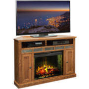 "Northstar 62"" Entertainment Center with Electric Fireplace"