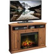 "Scottsdale 56"" Media Console with Electric Fireplace"