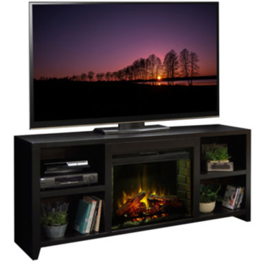 "jcpenney.com | Silverton 76"" Entertainment Center with Fireplace"
