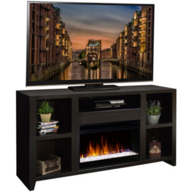 "jcpenney.com | Telluride 62"" Entertainment Center with Fireplace"