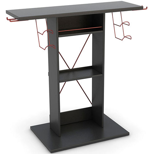 Traverse TV Stand with Game Storage
