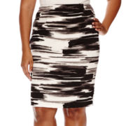 Alyx® Knit Pencil Skirt - Plus