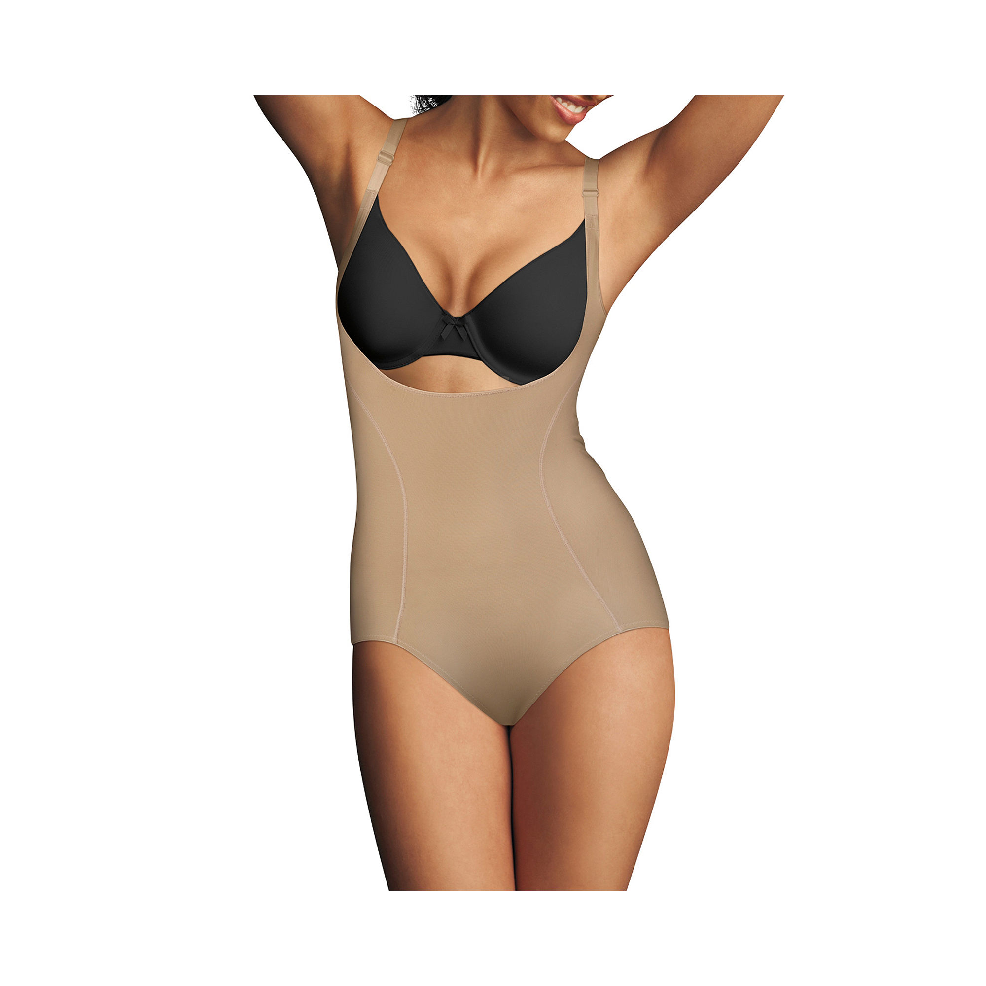 Maidenform Shapewear Wear Your Own Bra Body Briefer - 2656 plus size,  plus size fashion plus size appare